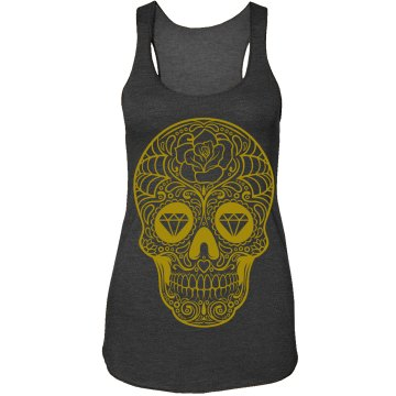 Fashion Sugar Skull Tank