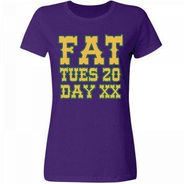 Fat Tuesday Mardi Gras
