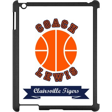 Coach Lewis iPad Black iPad Snap-on Case