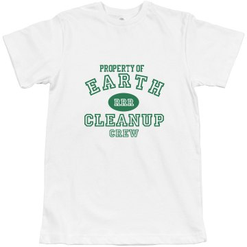 Earth Day Crew Misses Relaxed Anvil Organic Tee