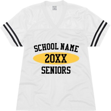2013 Seniors Jersey Junior Fit Augusta Replica Football Jersey