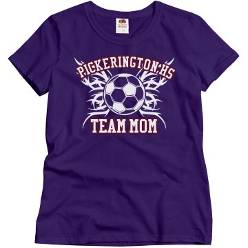 Pickerington Team Mom Misses Relaxed Fit Gildan Ultra Cotton Tee