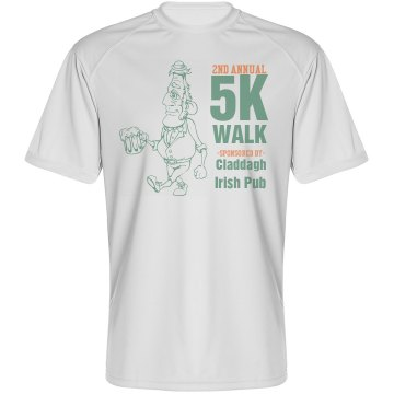 St. Patrick Charity Walk Paragon Performance Tee