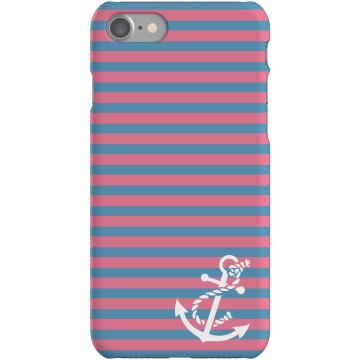 Anchor iPhone Case Rubber iPhone 4 &amp; 4S Case White