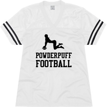 Powderpuff Football Junior Fit Soffe Mesh Football Jersey