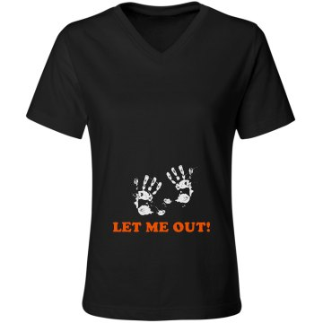 Let Me Out! Maternity Misses Relaxed Fit Gildan Ultra Cotton Tee