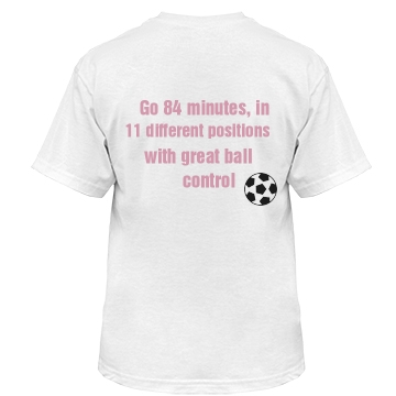 Soccer Players Can... Misses Relaxed Fit Basic Gildan Ultra Cotton Tee