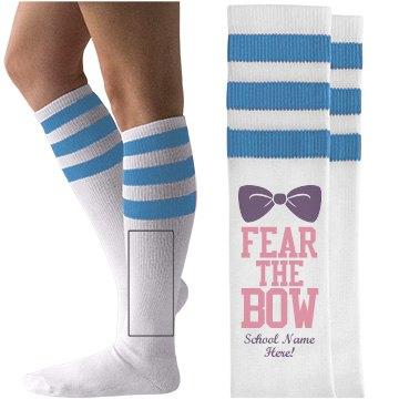 Fear the Bow Cheerleader