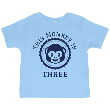 Birthday Tee Toddler Gildan Ultra Cotton Crew Neck Tee