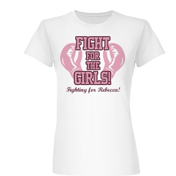 Fighting Breast Cancer Junior Fit Basic Bella Favorite Tee