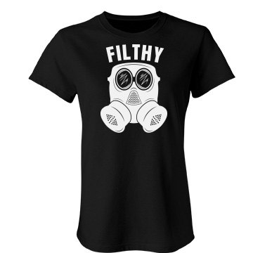 Filthy Dub Junior Fit Bella Favorite Tee