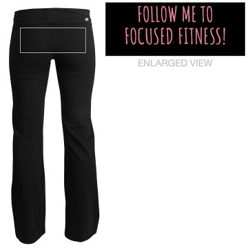 Fitness Promotion Pants