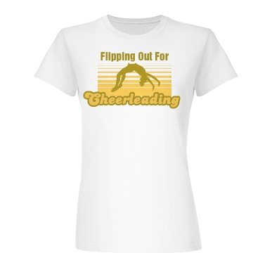Flipping Out Junior Fit Basic Bella Favorite Tee