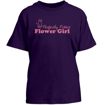 Flower Girl Youth Port & Company Essential Tee