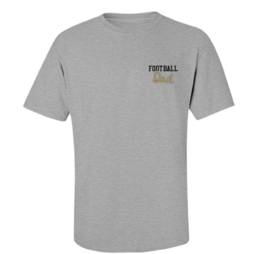 Football Dad Tshirt Unisex Basic Port & Compan