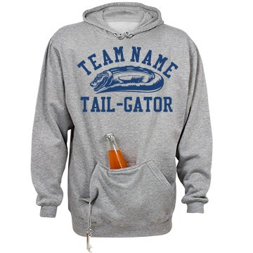 Football Gator Tailgating