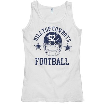 Football Jersey Misses Relaxed Fit Basic Gildan Softstyle Tank Top