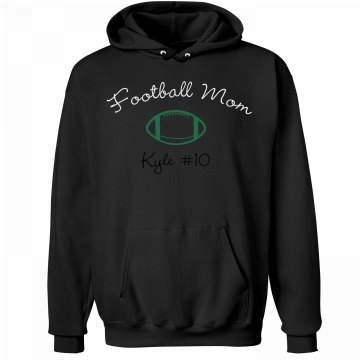Football Mom Unisex Hanes Ultimate Cotton Heavyweight Hoodie