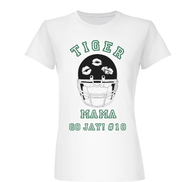 Football Tiger Mama Junior Fit Basic Bella Favorite Tee