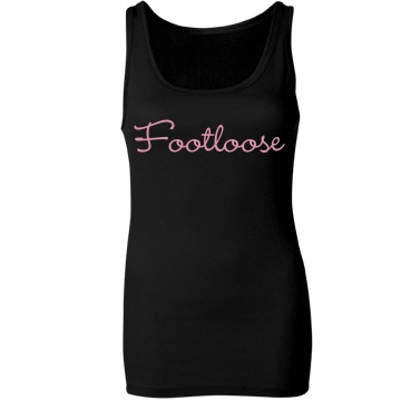 Footloose Junior Fit Bella Sheer Longer Length Rib Tank Top