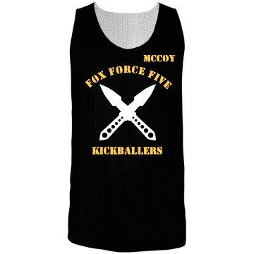 Fox Force Kickball w/Back