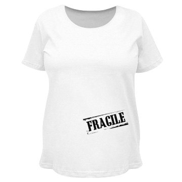 Fragile Pregnant Stomach