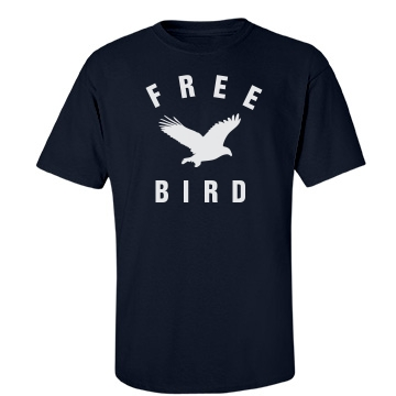 Free Bird Unisex Gildan Heavy Cotton Crew Neck Tee