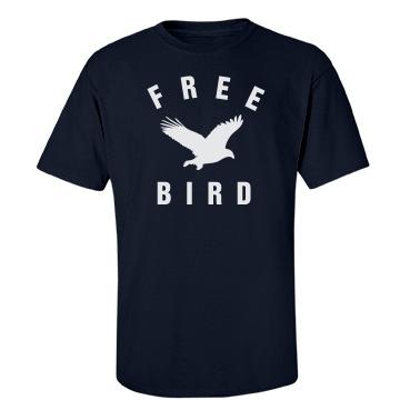 Free Bird Unisex Port & Company Essential Tee