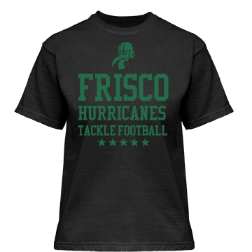 Frisco Hurricanes Misses Relaxed Fit Gildan Heavy Cotton Tee