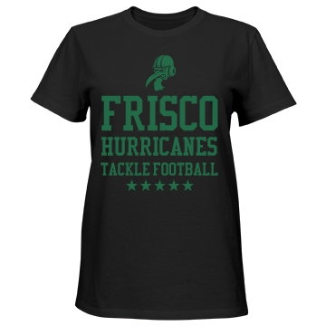 Frisco Hurricanes Misses Relaxed Fit Port & Company Essential