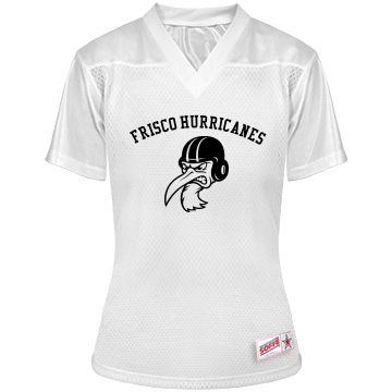 Frisco Hurricanes w/ Back Junior Fit Soffe Replica Mesh Football Jersey
