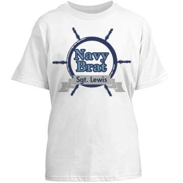 Funny Military Navy Brat