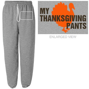 Funny Thanksgiving Pants