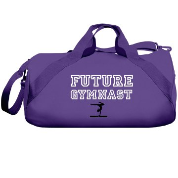 Future Gymnast Liberty Bags Barrel Duffel