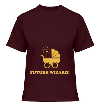 Future Wizard Maternity Misses Relaxed Fit Gild