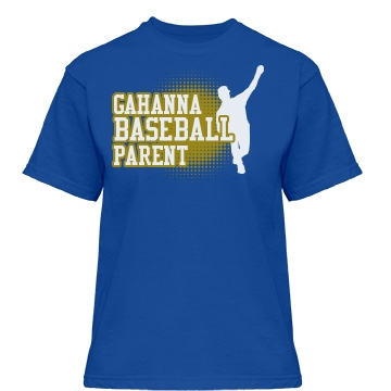 Gahanna Baseball Parent Misses Relaxed Fit Gildan Heavy Cotton Tee