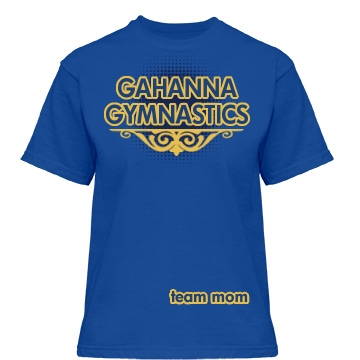 Gahanna Gymnastics Misses Relaxed Fit Gildan Heavy Cotton Tee