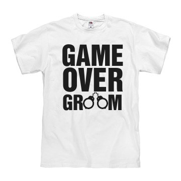 Game Over Groom Cuffs