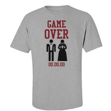 Game Over Groom Tee