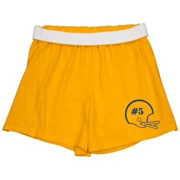 Gator Girl Junior Fit Soffe Cheer Shorts