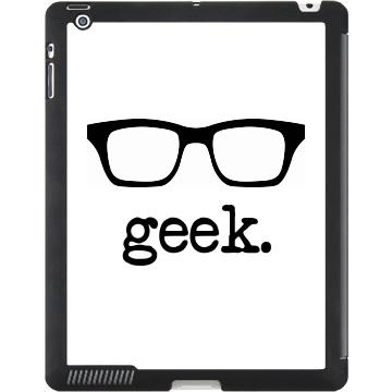 Geek Glasses iPad Case