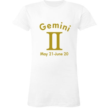 Gemini In Gold J
