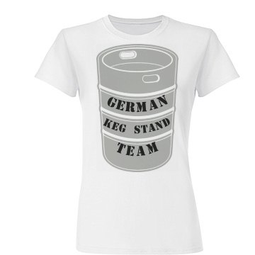 German  Keg Stand Team