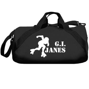 G.I. Jane's Derby Bag Liberty Bags Barrel Duffel Bag