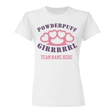 Girl Powderpuff Knuckles