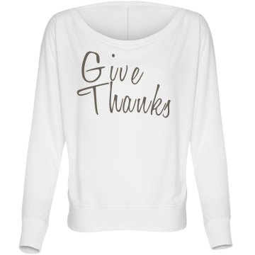 Give Thanks Bella Flowy Lightweight Long Sleeve Do