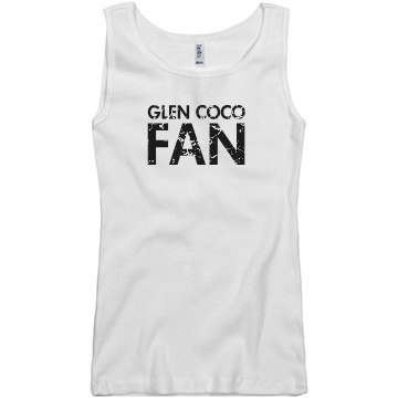 Glen CoCo Fan Junior Fit Basic Bella 2x1 Rib Tank Top