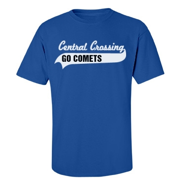 Go Comets Unisex Port & Company Essential Tee