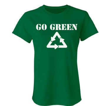 Go Green Junior Fit Bella Favorite Tee