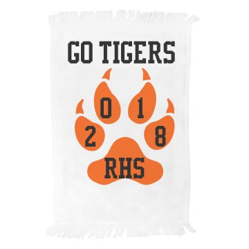 Go Tigers Spirit Towel